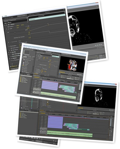 Adobe After effects & Premiere Pro Screenshots